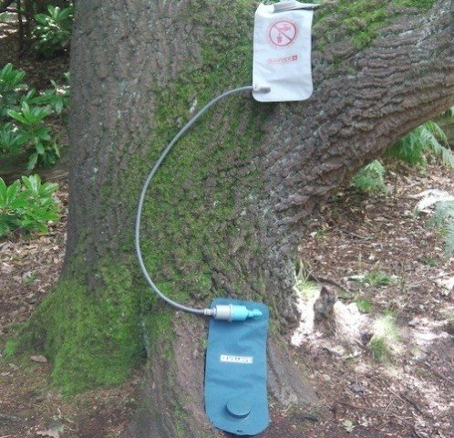 Sawyer 2-liter vandfilter system