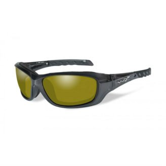 WileyX Gravity Solbriller - Polarized Yellow - Black Crystal