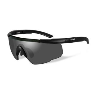Wiley X Saber Advanced Sikkerhedsbriller - Smoke Grey - Matt Black