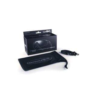Wiley X Saber Advanced Sikkerhedsbriller - Smoke Grey - Matt Black Tilbehor